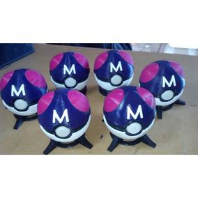 Pokebolas Master Ball - Impresion 3d