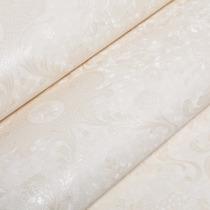 Papel De Parede Floral Vinílico Lavável Com Textura 6921