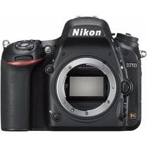 Nikon D750 ( Corpo ) 24.3mp, Full Frame Formato Fx - Nova