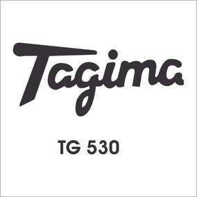 Adesivo Guitarra Tagima Tg 530 - Não É Waterslide É Vinil