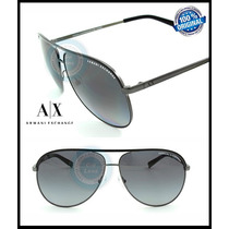 Gafas Armani Exchange Ax2002 Gunmetal Grey Gradient Polarize