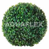 Esfera Bola Pasto Cesped Topiario Artificial 30 Cm