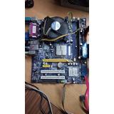 Tarjeta Madre 775 Foxcom Con Procesador Pentium Dual Core