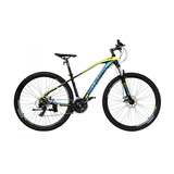 Bicicleta Lahsen Mtb Zx Initiated Pro Aro 29 Freno Disco 24v