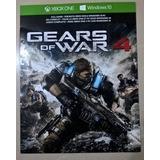 Gears Of War 4 Código Digital Xbox One & Windows 10