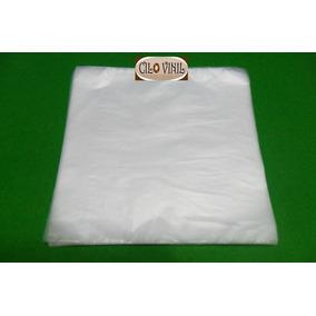 50 Plásticos Internos 0,06 P/ Proteção De Lp Disco Vinil