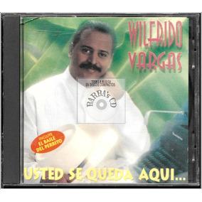 Wilfrido Vargas - Usted Se Queda Aquí ( Promo Cd ) Merengue