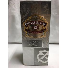 2 Garrafas Whisky Escocês Chivas Regal 12 Anos Original