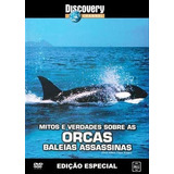 Dvd Mitos E Verdades Sobre As Orcas Baleias Assassinas
