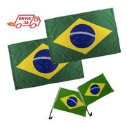 Kit Bandeiras Do Brasil Em Tecido
