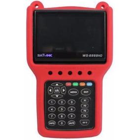 Localizador Satlink Ws 6999 Dvb-s2 Hd Retrátil - Sat Ses-6