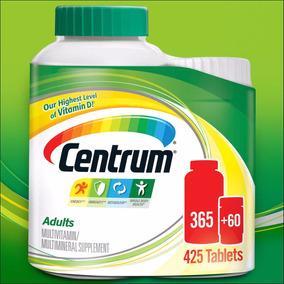 Centrum Adulto Homem E Mulher Importado 425 Val 12/19 Promo