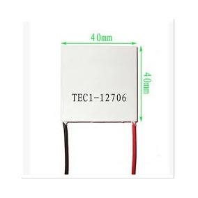 Celda Peltier Termoelectrica Tec1-12706 12v 60w 40mm Nueva