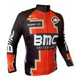 Campera Zr3 Bmc Cierre Full Zip Ciclismo Bicicleta