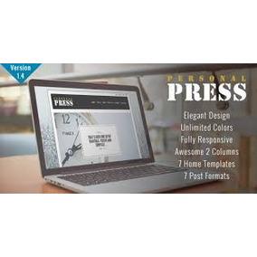 Press - Wordpress Responsive Elegante Blog Tema