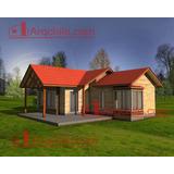 Casa Prefabricada Modelo Curico 2, 80 M2