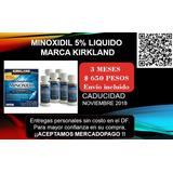 Minoxidi, 3 Meses. Kirkland. México Df.