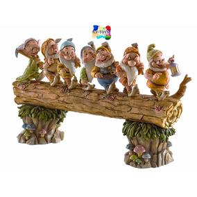 Los 7 Enanitos Palas Enesco Disney Porcelana Tipo Lladro Cf