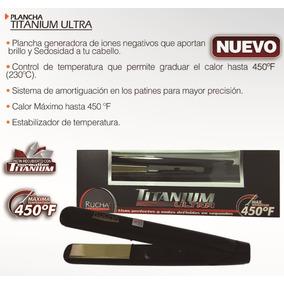 Plancha Rucha Ultra Titanium Somos Tienda Fisica!!!
