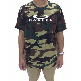 blusa da oakley camuflada