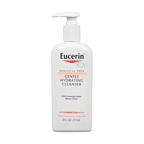 Eucerin Piel Sensible Gentle Hidratante Limpiadora De 8 Onza