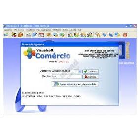 Visualsoft Comercio 2015 Pt-br.automaçao Comercial Software