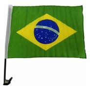Bandeira Do Brasil Tecido Para Carro