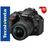 Nikon D5600 Lente 18-55mm 24.2 Mp, Touch, Full-hd, + Sd 32gb