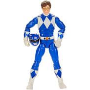 Boneco Blue Ranger Lightning Collection Azul Billy Power
