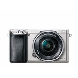 Camara Sony Alpha Ilce6000l/s 24.3mp Digital 4x Silver