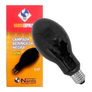 Lâmpada Luz Negra 80w Berinjela 220v/110v Soquete E27 Mista