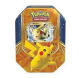Coleccion Cartas Tarjetas Pokemon Pikachu Battleheart Tin