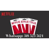 Nerflix Premium30dias Entrega Inmediata