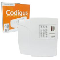 Central De Alarme Residencial E Comercial Codigus 4d Ppa