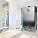 12l De 3.2 Gpm Gas Lpg Agua Caliente Al Instante Calentador