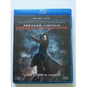 Abraham Lincoln Cazador Vampiros En Blu-ray Y Dvd Nueva
