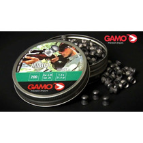 Diabolo Gamo Hunter 6.35 Pellets Copitas Tiro Caza Airsoft