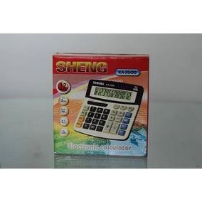 Lote 5 Calculadoras Calculadora Sheng 12 Dígitos