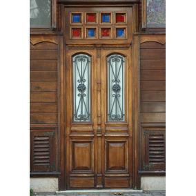 Adesivo Decorativo Para Porta Modelo De Madeira