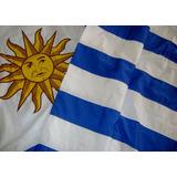 Banderas De Uruguay De 1.50 X 90 Cm Y Banderas Para Auto