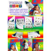 Toallas Paños Para Bebes Y Niños Personalizados