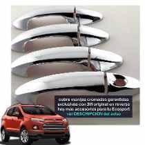 Kit 4 Cubre Manijas Cromadas Ford Ecosport Kinetic