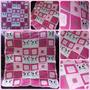 Mantillas Bebe Tejidas Artesanalmente. Crochet 90 X 100 Cm