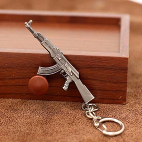 Llavero De Ak 47 Rifle De Asalto