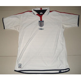 Jersey Inglaterra Umbro 03-05 Reversible Dos Lados Caras