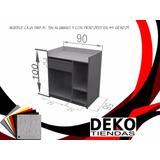 Mueble Mostrador Para Tiendas En Mdf Linea Economica Tmb41