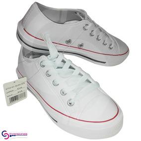 Zapatos Estilo Converse Con Material De Cross T36