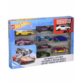 Set De 9 Carros Hotwheels Originales