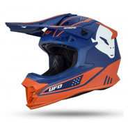 Casco Moto Ufo Cross Enduro  Intrepid Azul Sky Solomototeam
