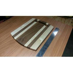Tabla Para Picar, Madera De Maple Y Nogal